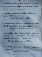 Actividades Maio Cultural 2017